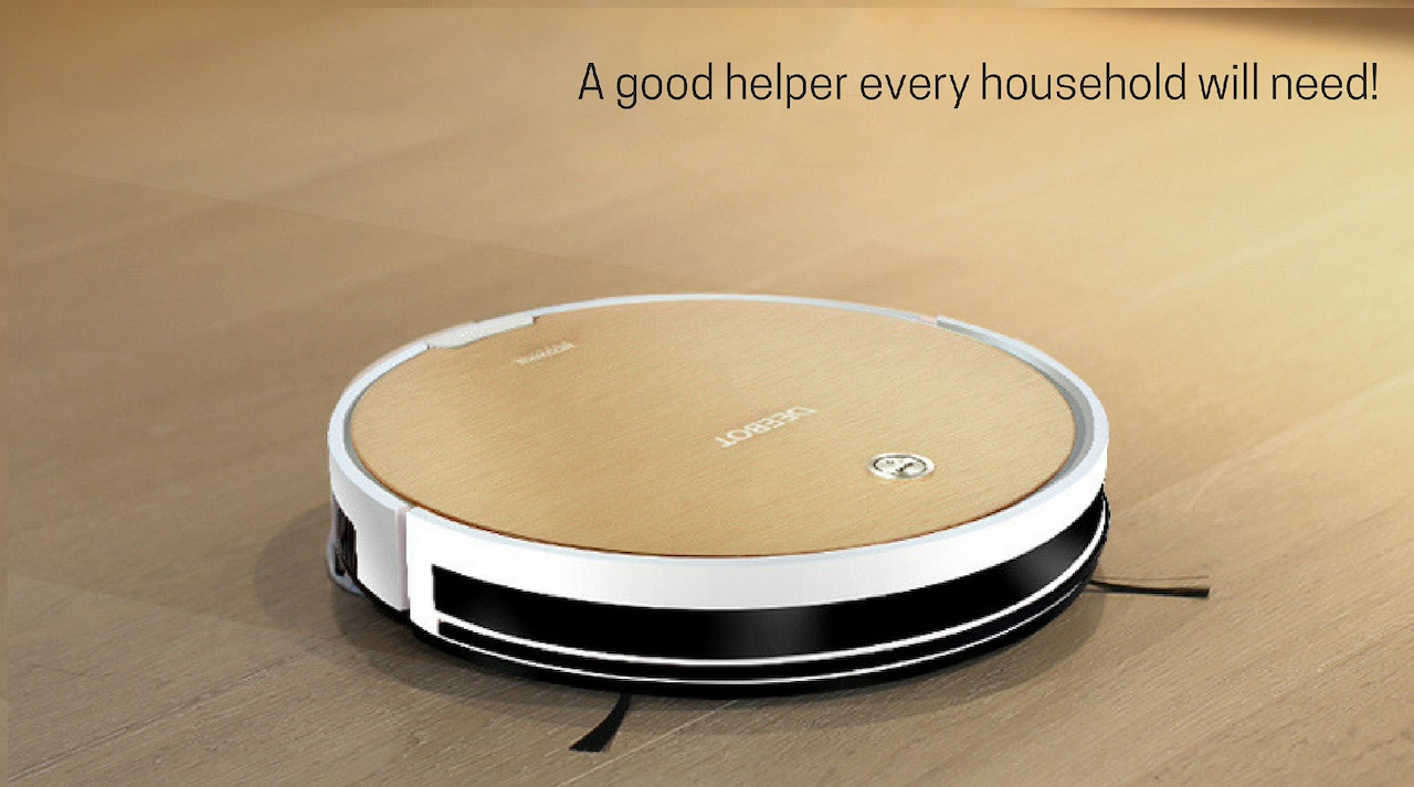 Ecovacs Deebot Gold 1 Robot Vacuum Cleaner With Wet